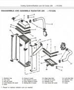John Deere Crawler 755B Radiator
