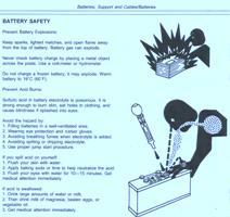 John Deere Crawler 755B Battery Hazard