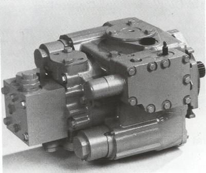 Sundstrand Sauer Danfoss Series 20 – Manual Displacement Motor Control