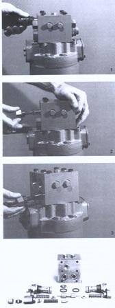 Sundstrand Sauer Danfoss Series 20 Manifold Assy Components