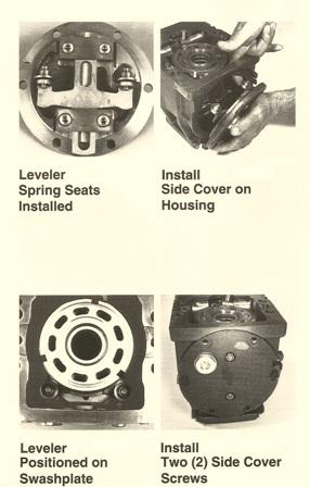 Sundstrand Sauer Danfoss Series 90 – Install Leveler Spring Seat