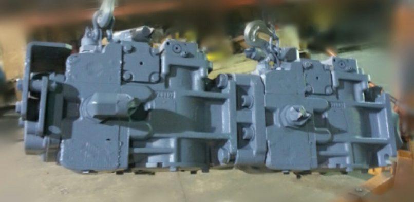 Hydraulic Rebuild Process
