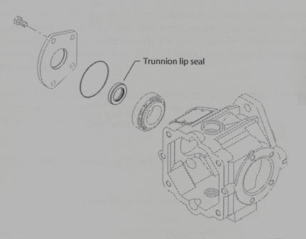 Sundstrand Sauer Danfoss Series 40 MPV035D/MPT035D Trunnion Seal Change