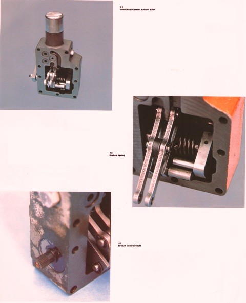 Good and Bad Displacement Control Valves