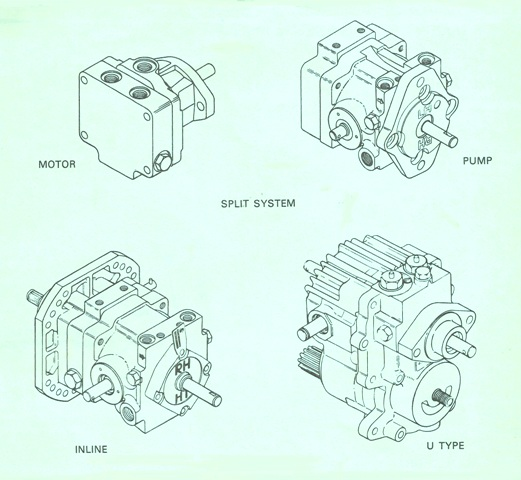 Sundstrand Sauer Danfoss Series 15 All Types of Pumps & Motors