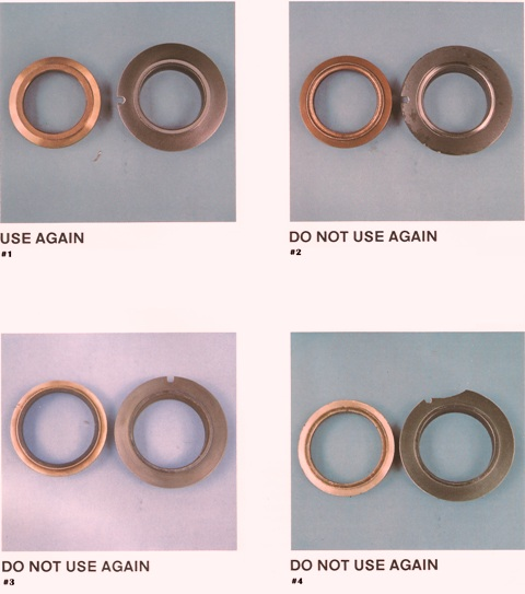 Sundstrand Sauer Danfoss Series 20 How To Tell Good & Bad Shaft Seals