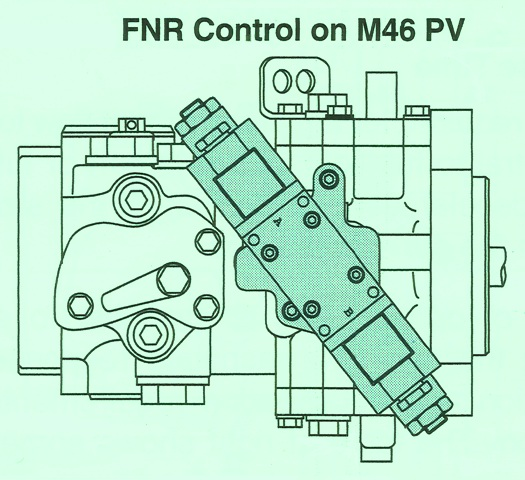 Sundstrand Sauer Danfoss Series 40 Three Position Electric Displacement Control