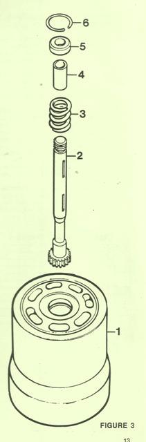 Denison Barrel & Auxiliary Shaft Assy