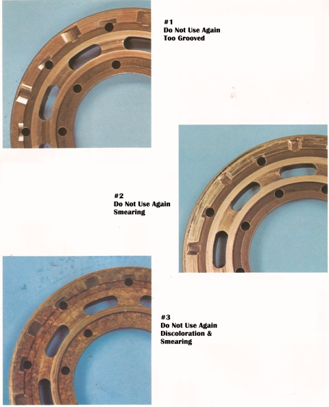 Sundstrand Sauer Danfoss Series 20 Bearing Plates Part 1