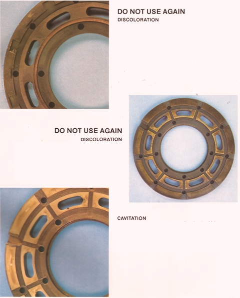 Sundstrand Sauer Danfoss Series 20 Bearing Plates Part 2
