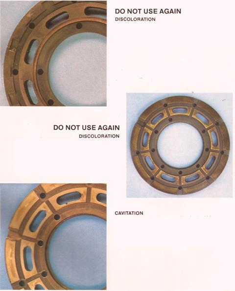 Sundstrand Sauer Danfoss Series 20 Bearing Plates Part 2
