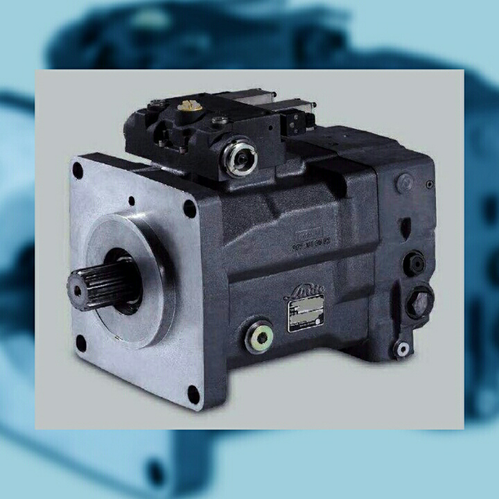 Linde Excavator HPR100-01-R Pump Repair