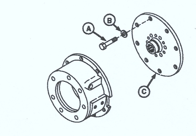 John Deere 755B Crawler Connector Disk