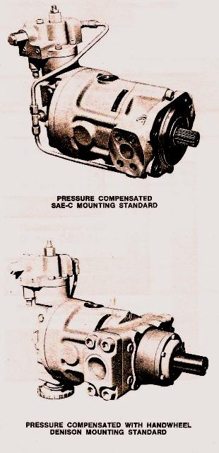 Denison Hydraulic Pump & Motor Piston Types Series 2-700 and 3-700