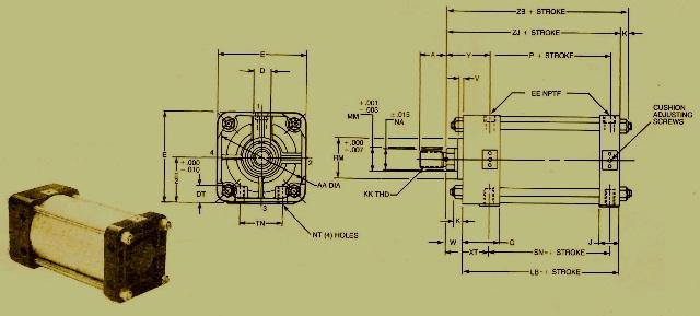 Rexroth Pneumatic & Hydraulic Cylinders – The Basics
