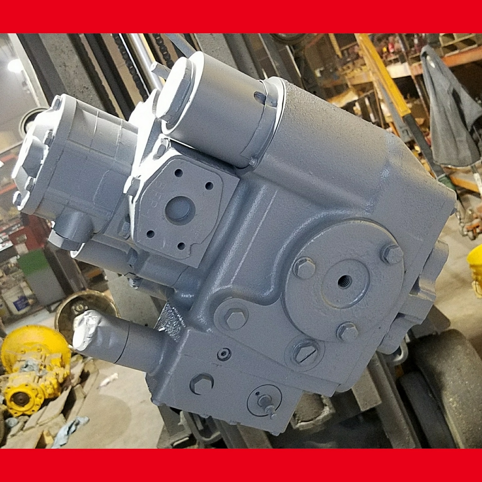 What to Expect on a Sundstrand Sauer Danfoss Pump Repair