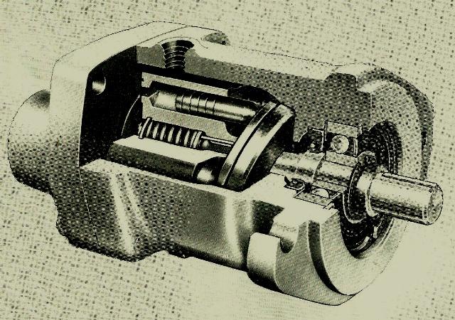 Vickers Inline Piston Motor