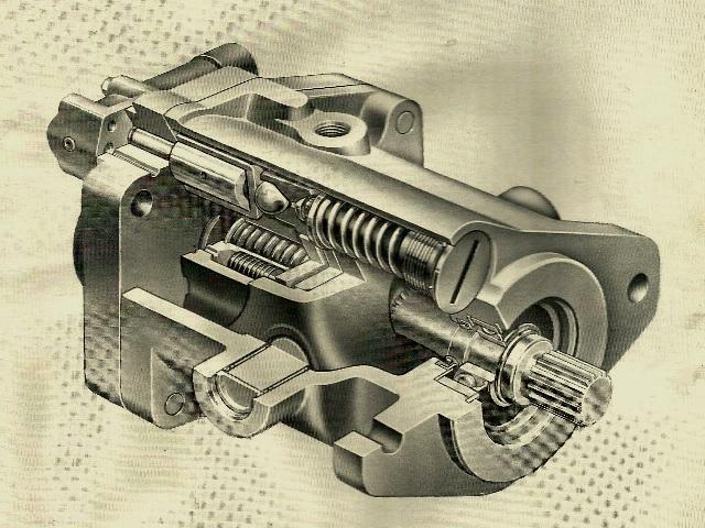 Vickers  Variable Inline Piston Pump M-PVB20-10/ M-PVB29-10 Design