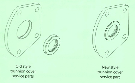Sundstrand Sauer Danfoss Series 40 MPV035D/MPT035D Trunnion Cover Seal