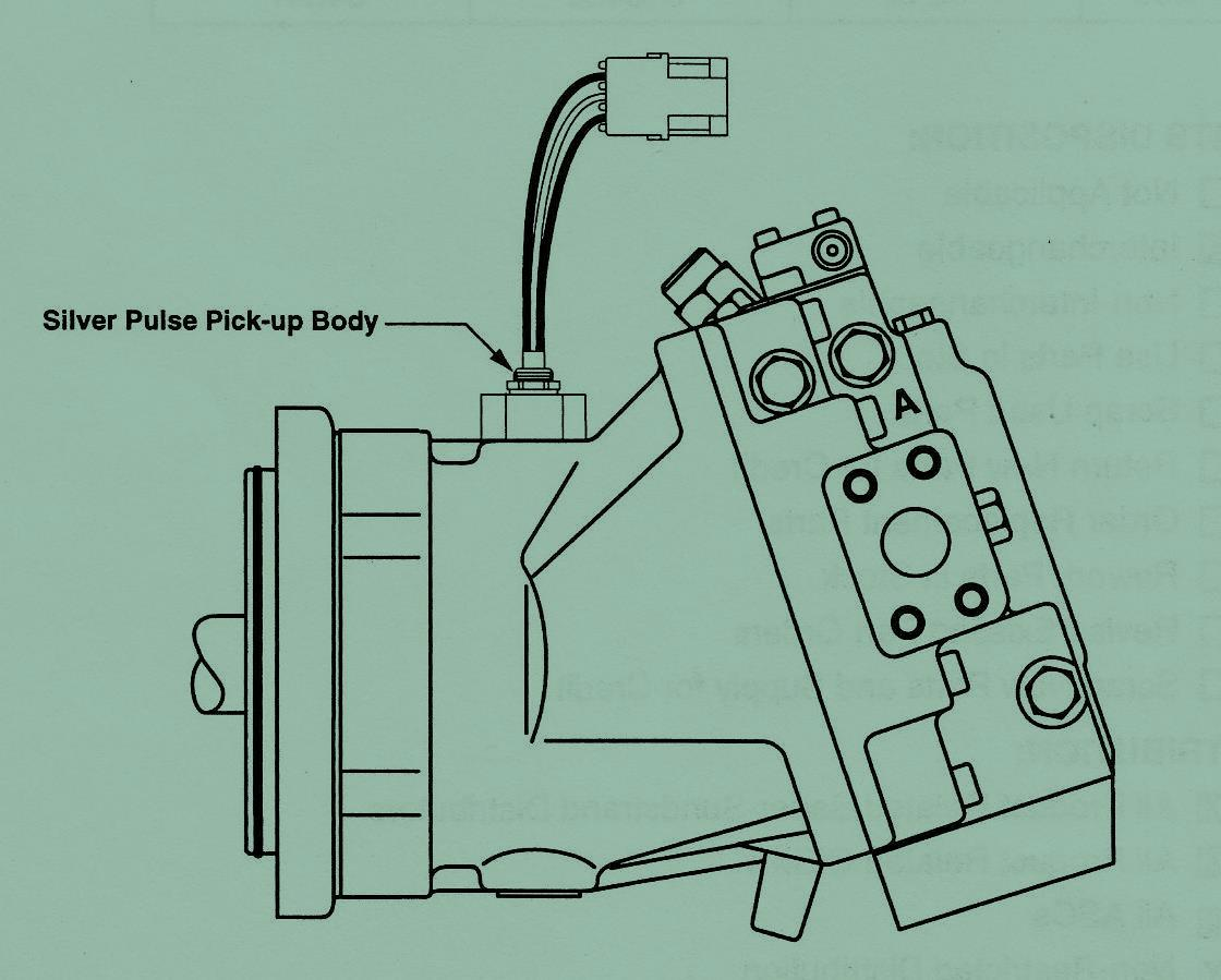 Sundstrand Sauer Danfoss Hydraulic Pump Series 90 – Changes in the Pulse Sensing Circuit