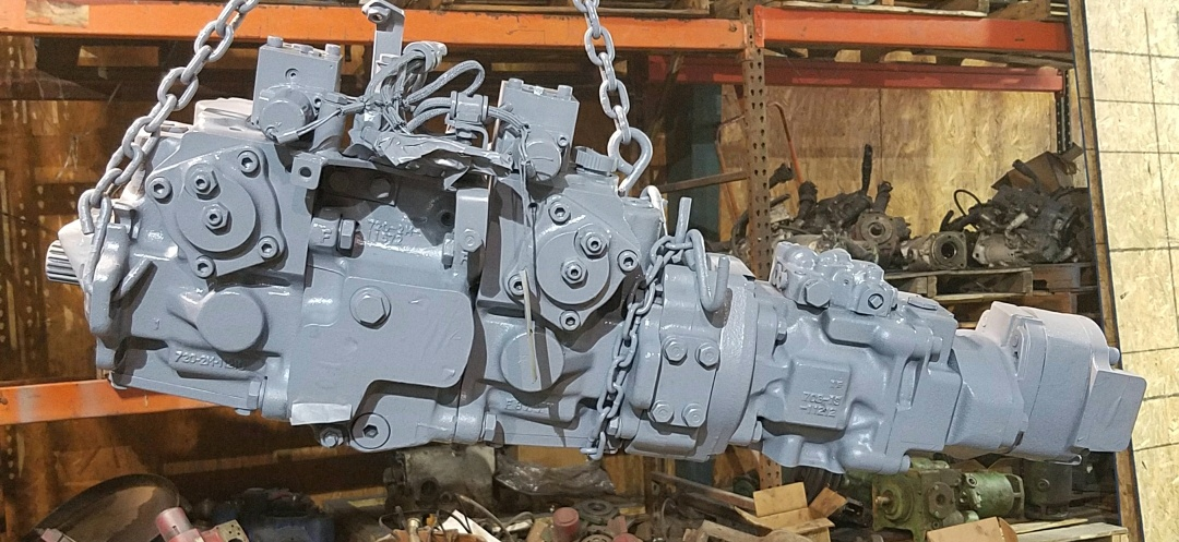 We Service Komatsu Hydraulic Pumps & Motors