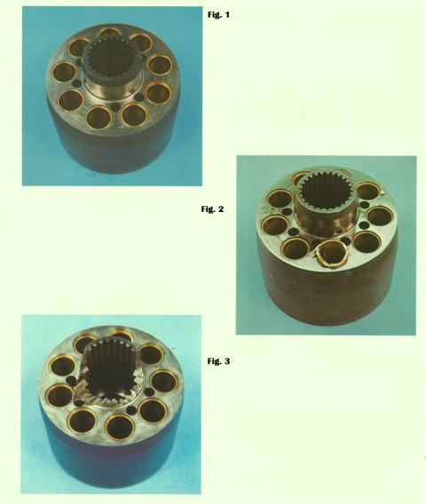 Sundstrand Sauer Danfoss Hydraulic Series 20 Cylinder Block- Bad From Good Guidelines