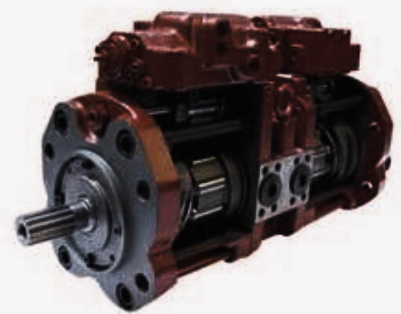 Kobelco Excavator Hydraulic Pump Repair