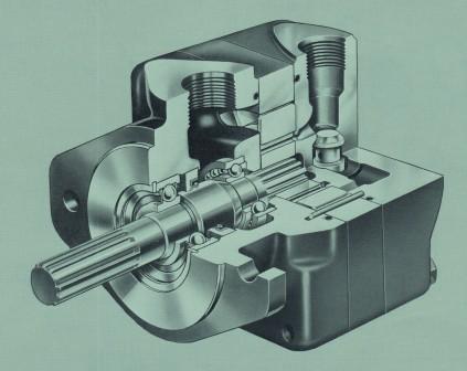 Vickers M2U Series Hydraulic Vane Motor