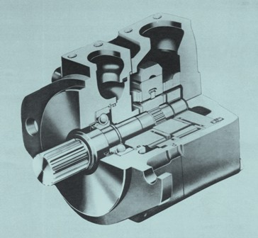 Vickers 35VQ/ 36VQ Series Hydraulic Vane Single Pump