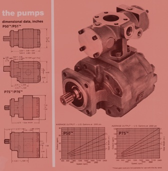 P50/75 Hydraulic Pumps – Dry Valves