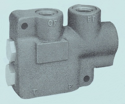 FD 30/50/75 Hydraulic Oil Intensifiers and Flow Dividers
